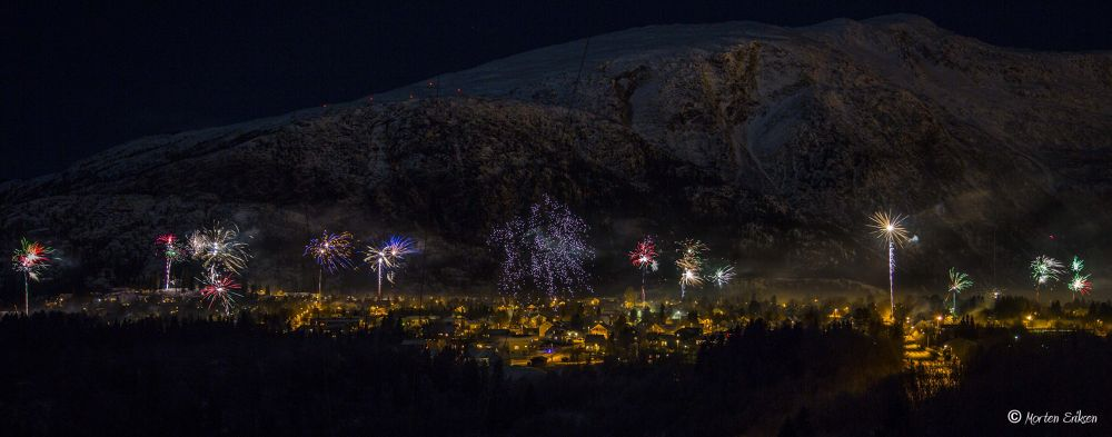 Happy New Year by Morten Eriksen