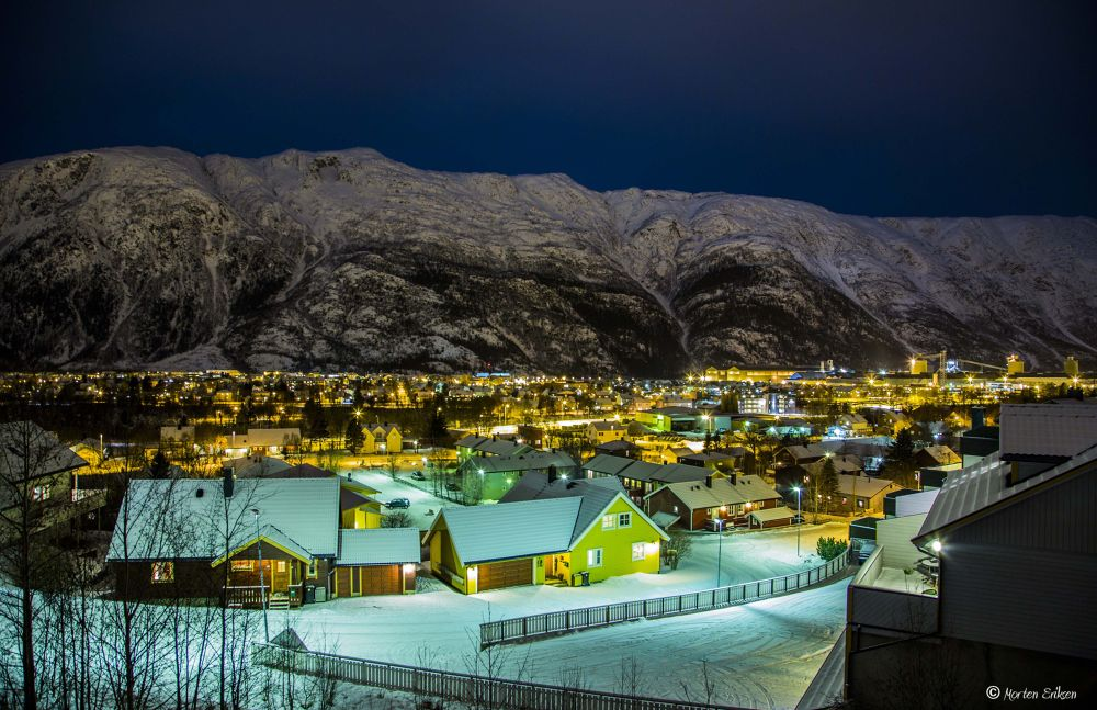 Mosjøen City by Morten Eriksen