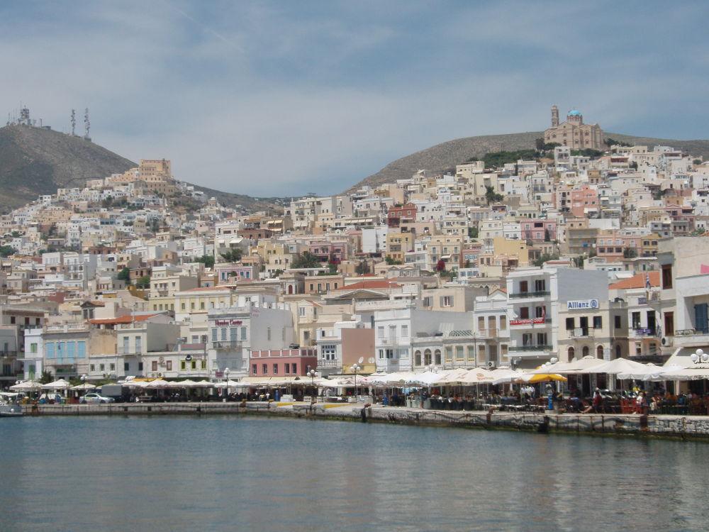 Siros Island, Ermoupoli, Cyclades, Aegean,Greece by Alexandros Alexiou ZouperMan