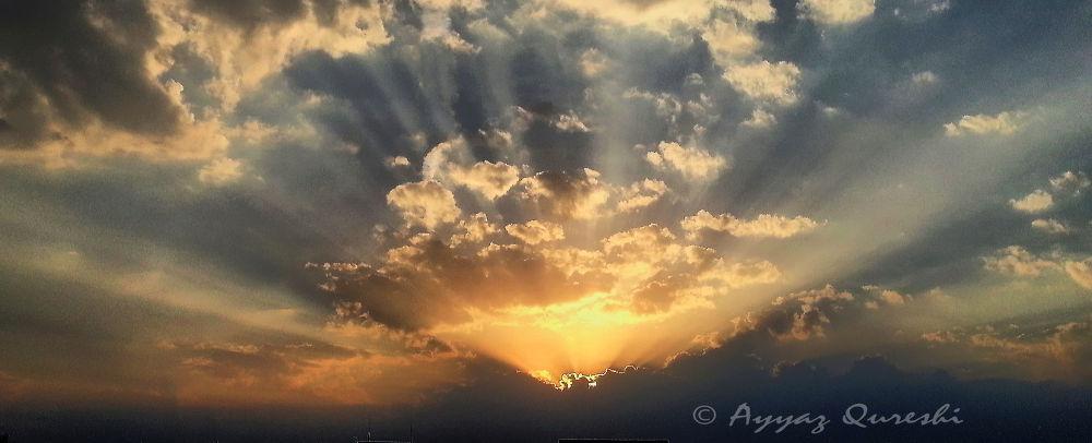 sunset by ayyazq
