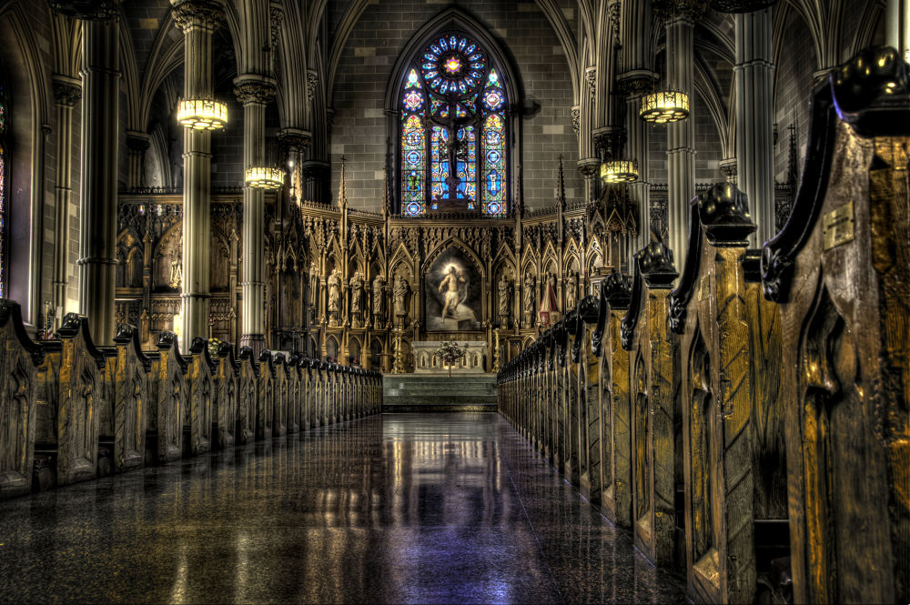 St Patrick's Old Cathedral by alwaysbeenmad