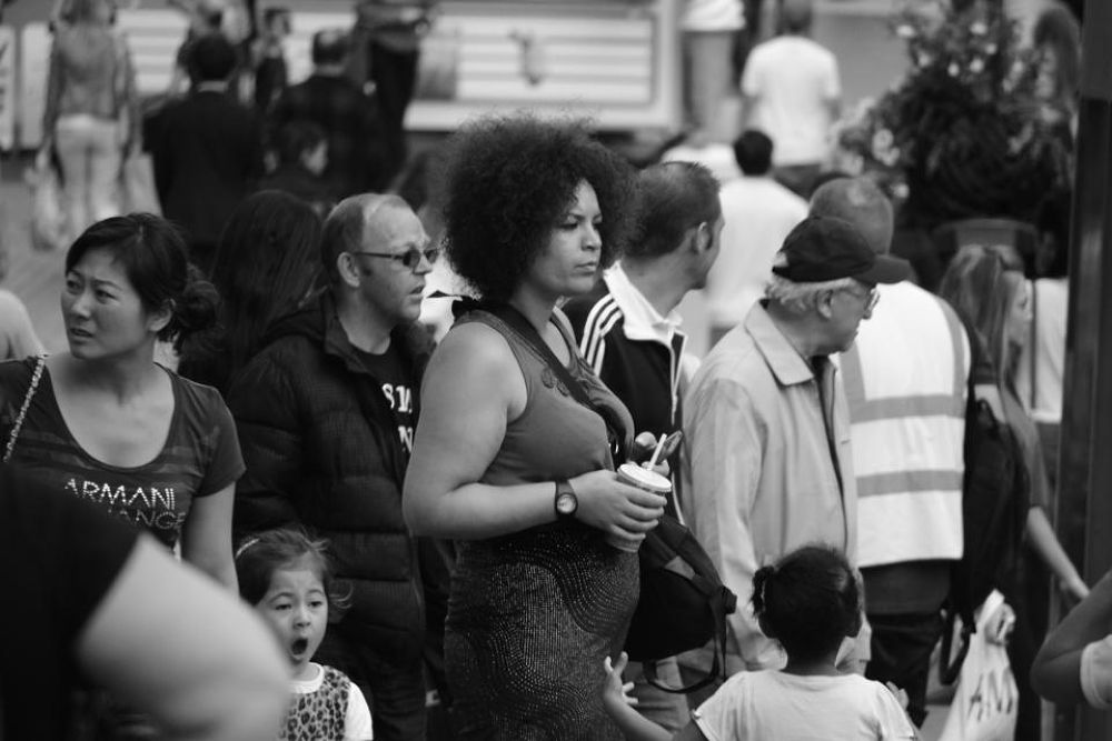 crowds by Lee Russell Wilkes
