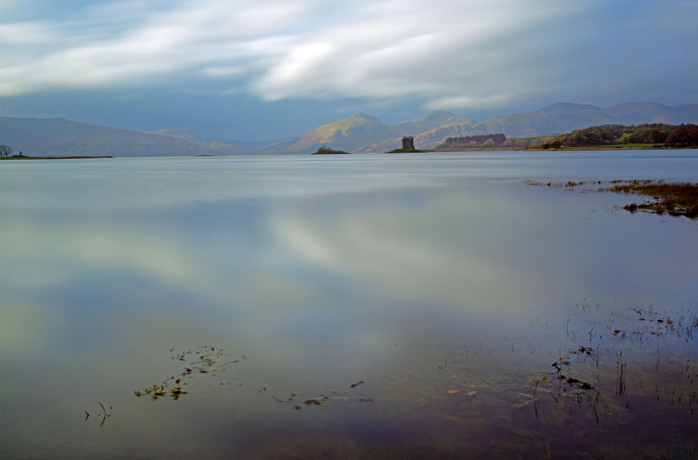 Castle Stalker from Appin by Ruth Grindrod