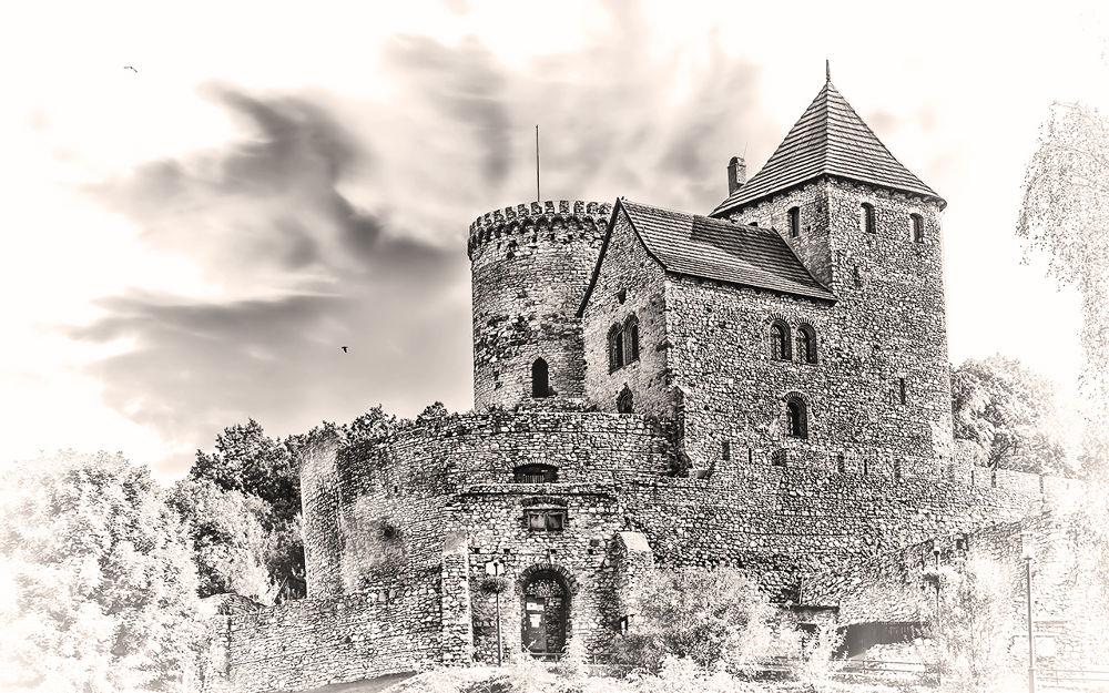 Photo in Architecture #castle #architecture #black #blackwhite