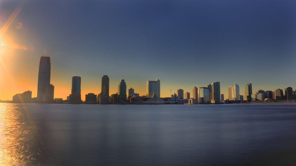 New Jersey sunset by JanGoris