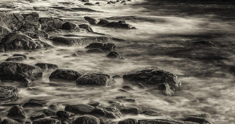 Wet Rocks by birhav