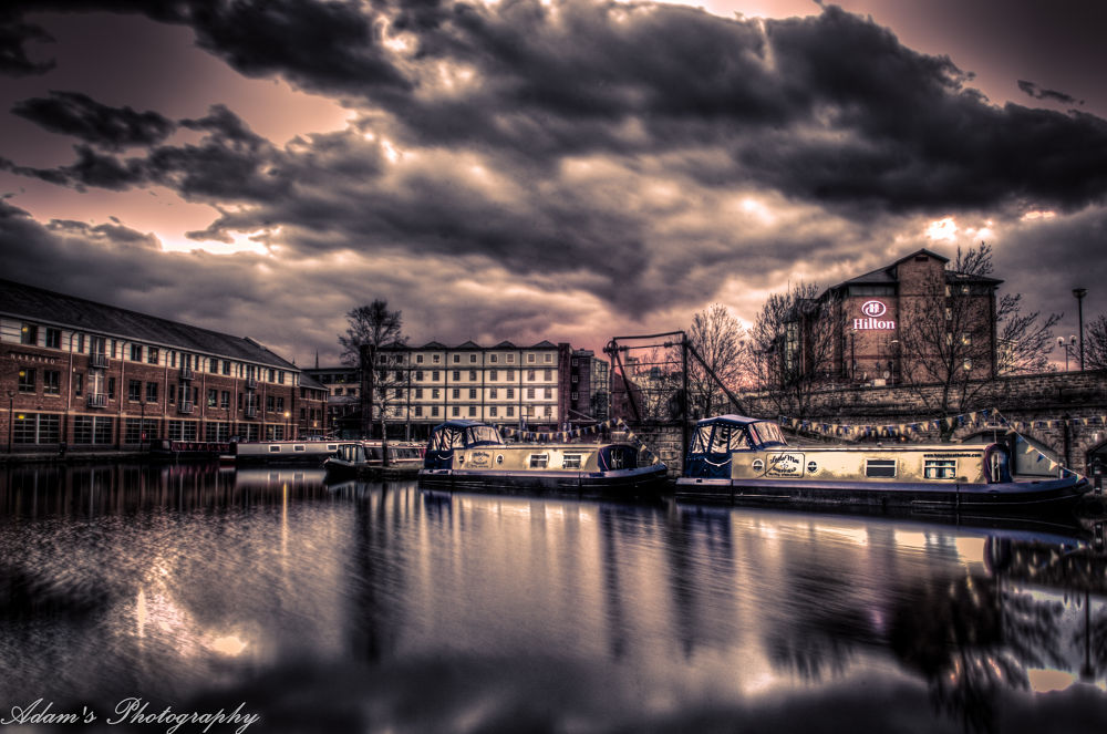 Victoria Quays- Sheffield by Adam Nicolaou