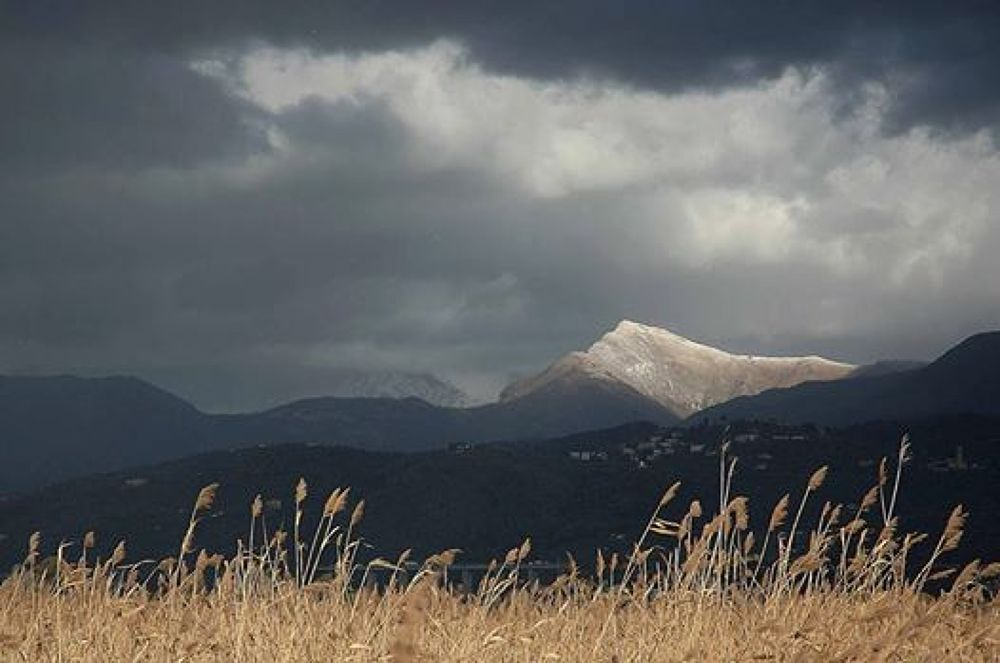 The last snow of spring by Alberto Gianfranco Baccelli