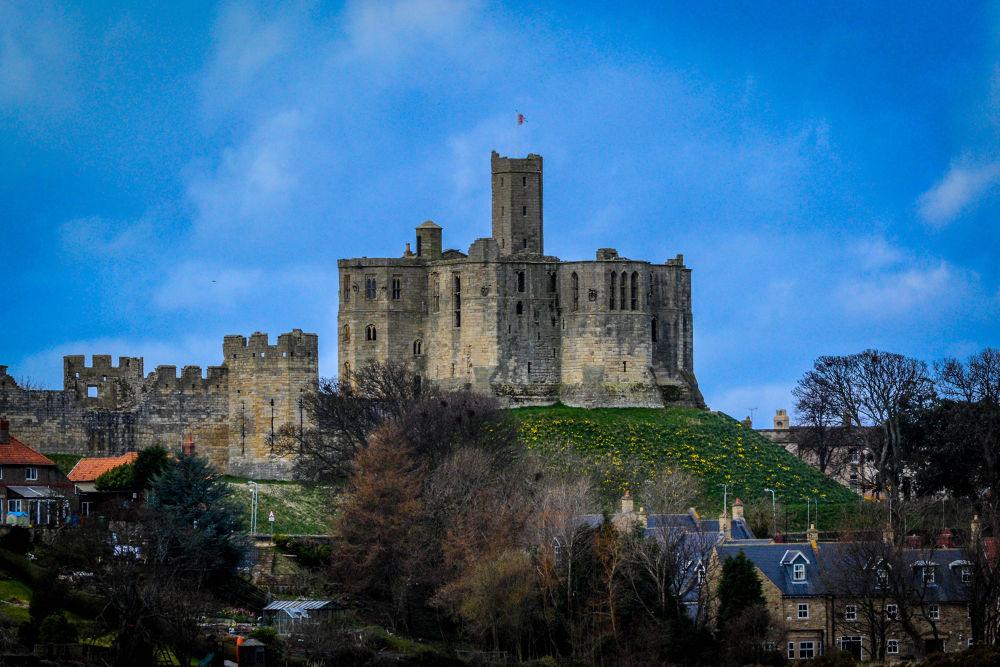 Warkworth Castle by Robert Nixon