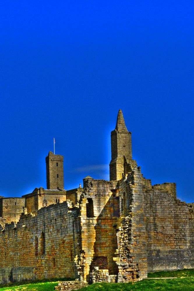 Another one from Warkworth Castle by Robert Nixon