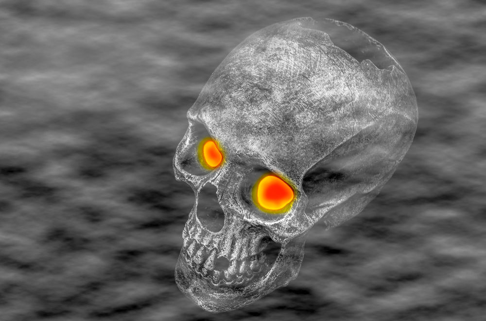 Foggy-Skull-Eyes by Robert Nixon
