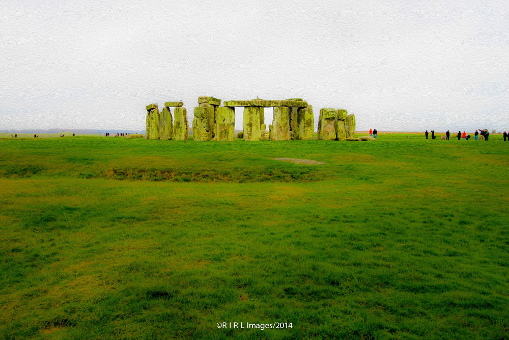 Stonehenge by Rical Tan