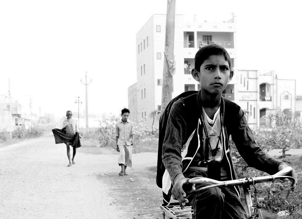 To School? by Ravi Sharma