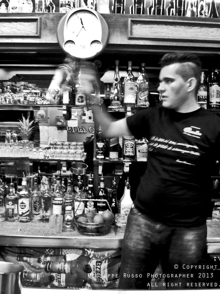 a barman by Joseph71