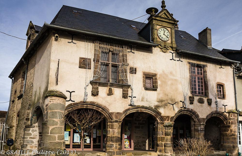 Lubersac (Correze - France) - Renaissance building by Philippe Graille