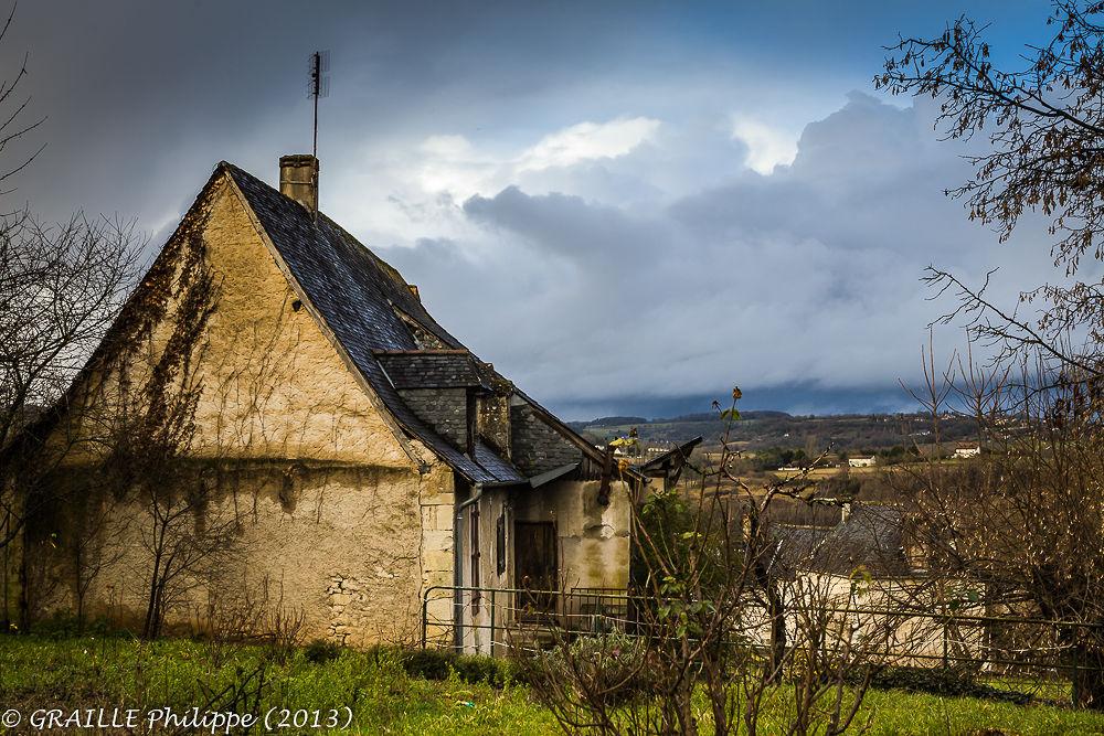 La Bachellerie (Dordogne - France) - Dark sky over Black Perigord by Philippe Graille