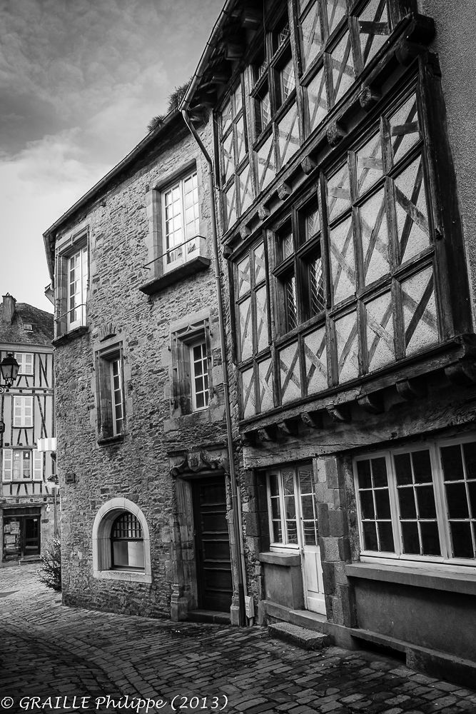 Medieval street by Philippe Graille