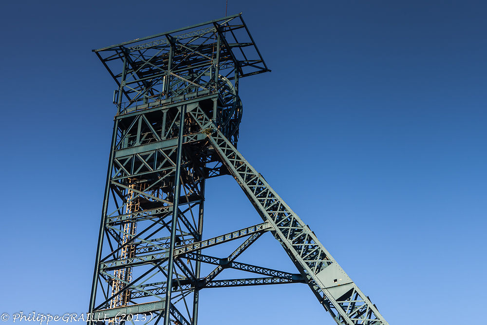 Lievin (Pas de Calais - France) - Mine headframe by Philippe Graille