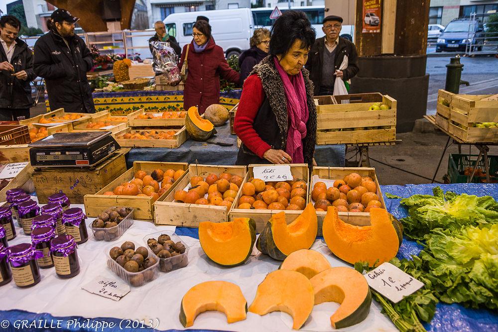 Orange fashion by Philippe Graille