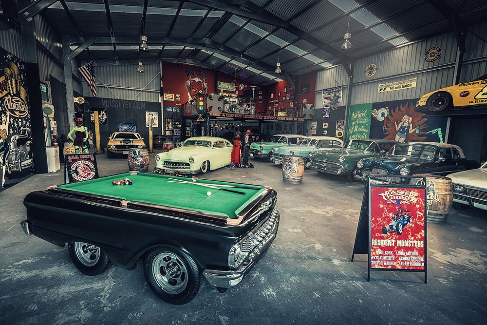 Old school monster garage by Andrey Moisseyev Photographer