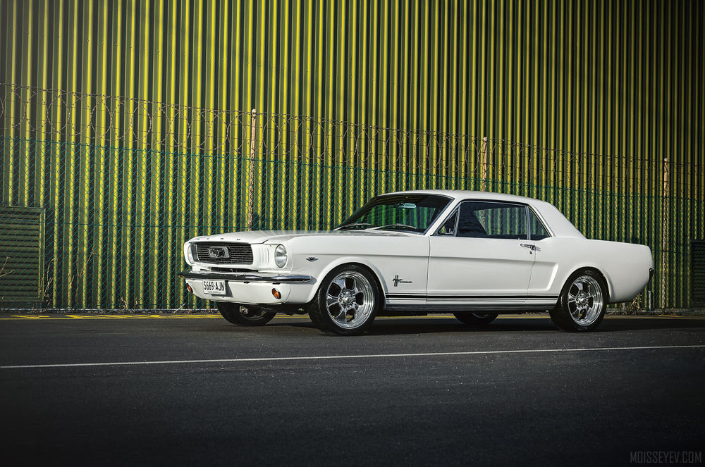 Ford Mustang 1966 coupe by Andrey Moisseyev Photographer