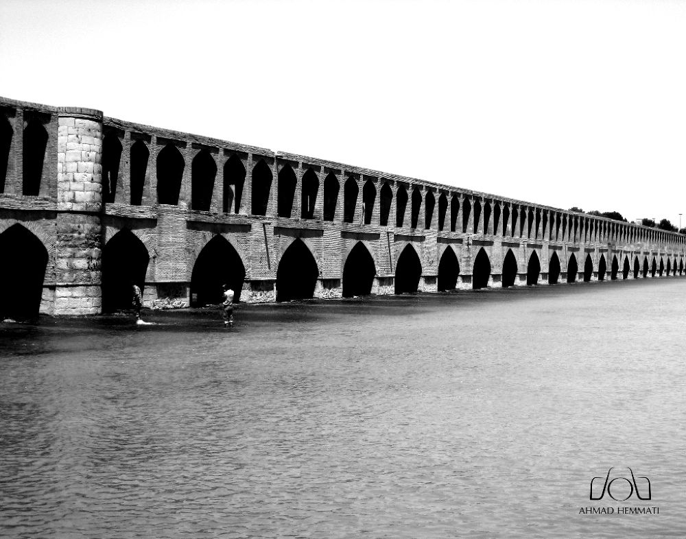 Ciose Bridge - ( 33 Bridge ) by Ahmad Hemmati