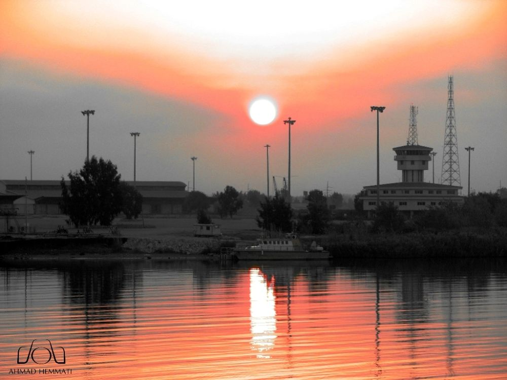 Sunset no.3 by Ahmad Hemmati