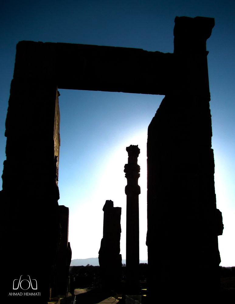 Persepolis - Gate of All Nations  by Ahmad Hemmati