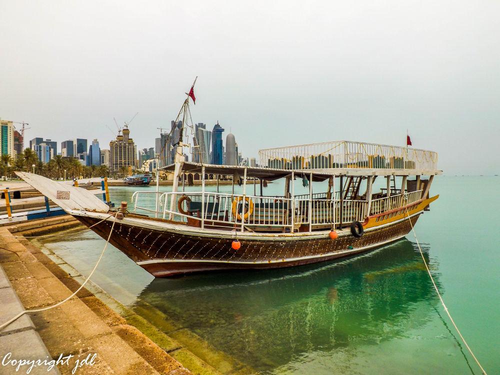 Corniche,  Doha, Qatar by Jo-uan De Leon