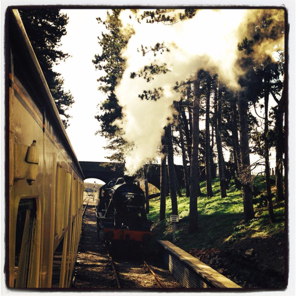 Steam Train by CowanCreations