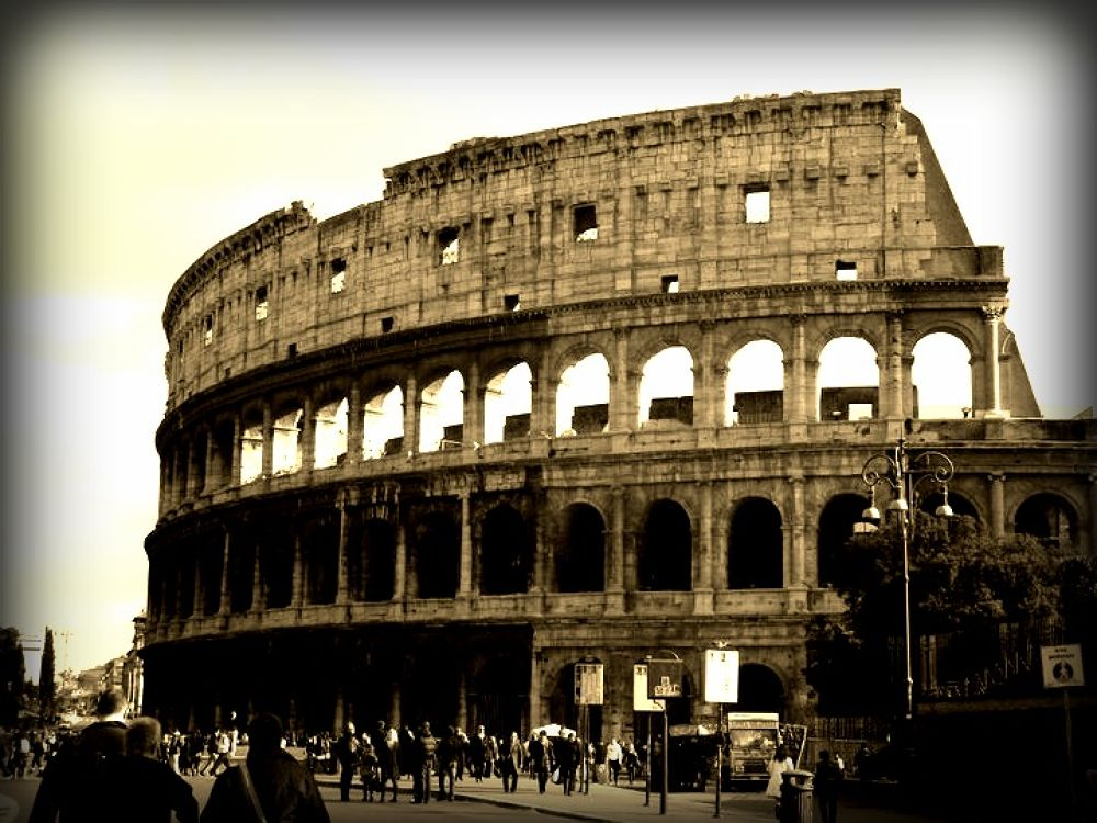 Colosseum - Rome by CowanCreations