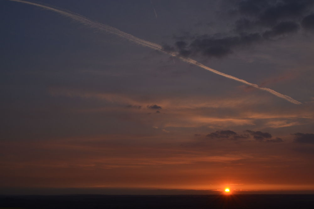 Sunset - Ivinghoe Beacon by CowanCreations