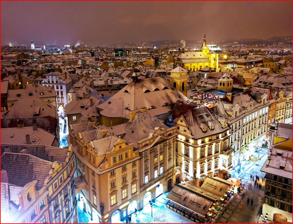 Sleepy Night  (Prague, Czech Republic) by EuroAmerican