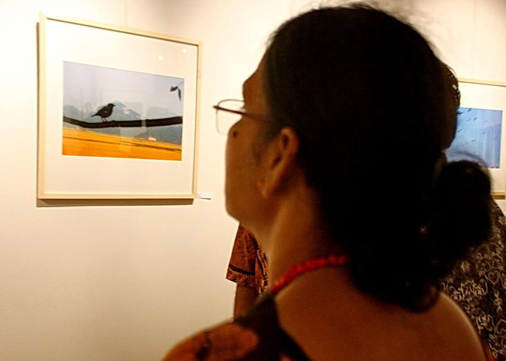 84. A SPECTATOR IN A PHOGRAPY EXHIBITION.jpg by ShyamalKBanik