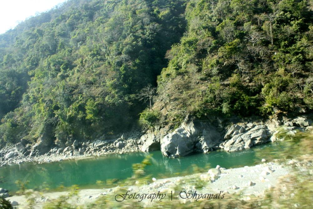 Wter Stream Up the Hills.JPG by ShyamalKBanik