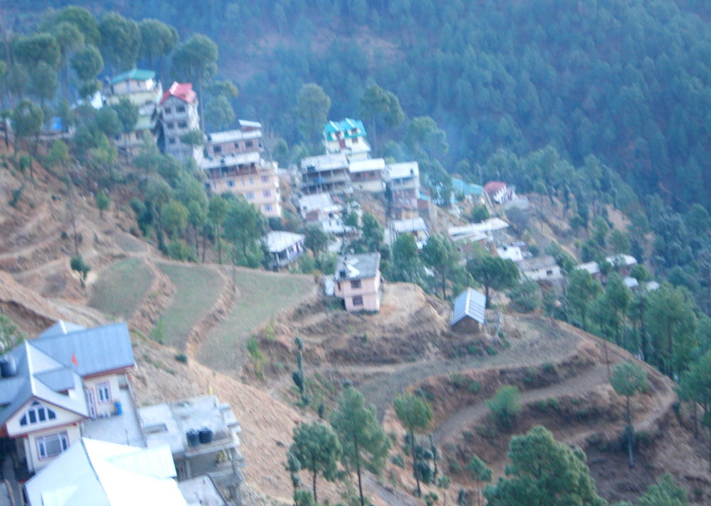 LAND SURFACE IS VISIBLE ON HILL TOP CITYJPG by ShyamalKBanik