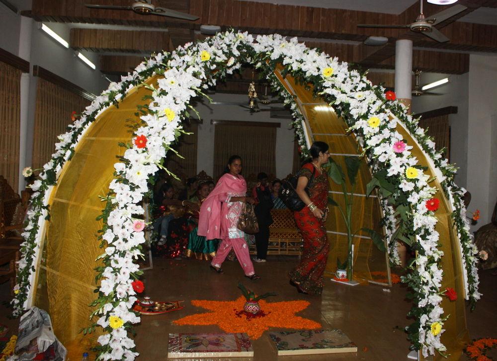 A MARRIAGE PODIUM by ShyamalKBanik