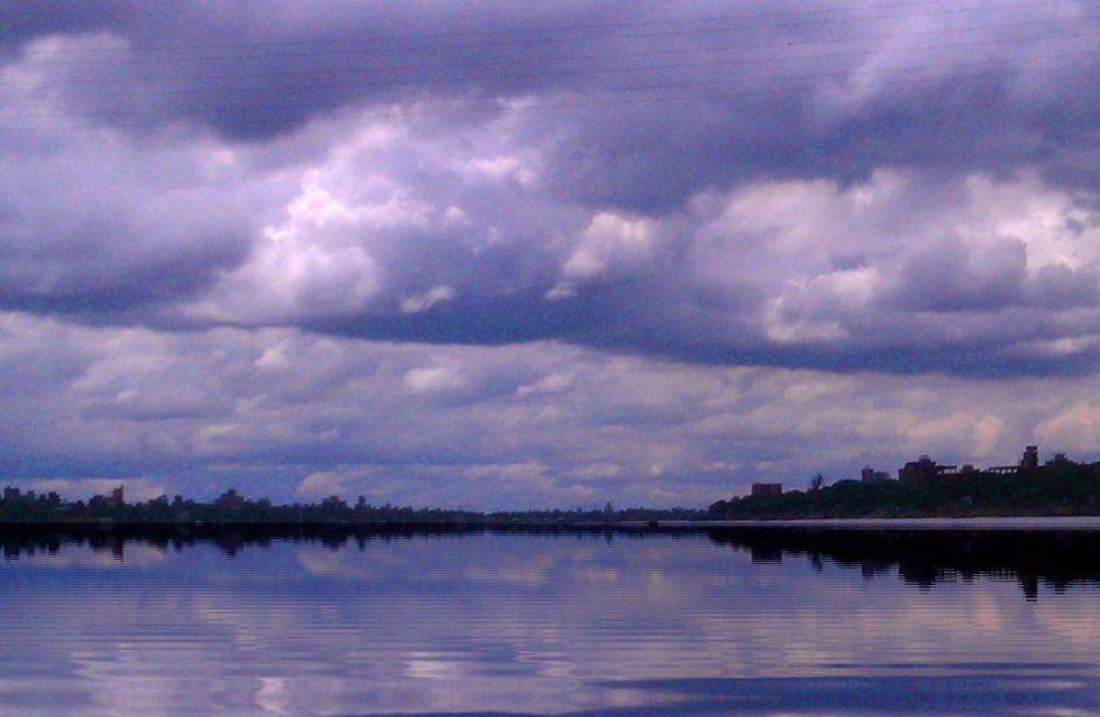 CLOUDS IN BLUE SKY by ShyamalKBanik