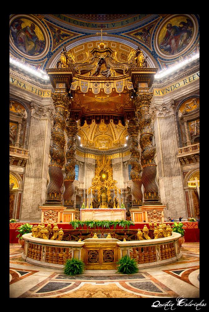 Basilica San Piedro di Vaticano by quentin calvinhac