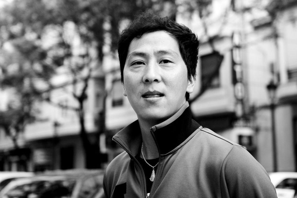 Juan Jou. Portrait in street by SergioBolinches