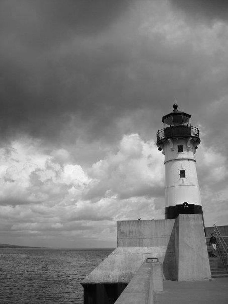 Duluth Lighthouse by Morgan Elizabeth