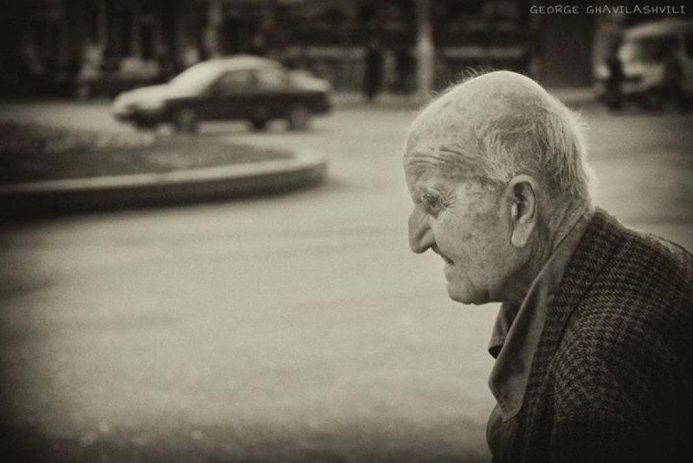 The old man... by Gio Ghavilashvili