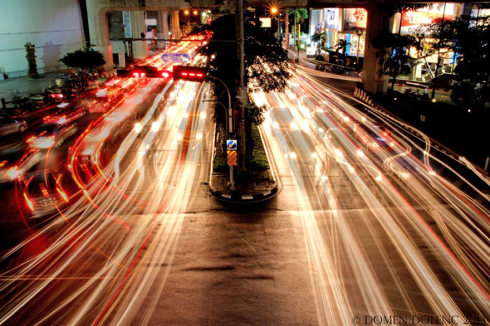bangkok traffic by Domen Dolenc