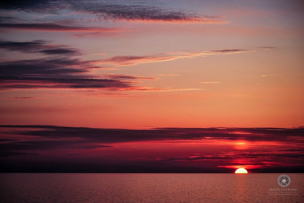 Sunset.. by Milos Cetkovic