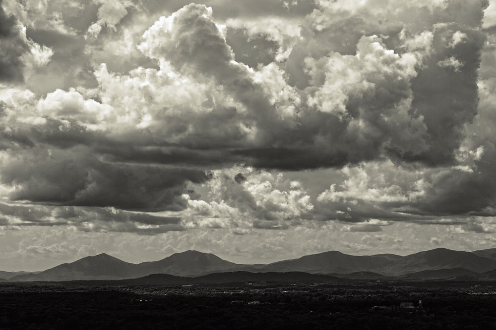 Blue Ridge Mountains by Andrew Bowman