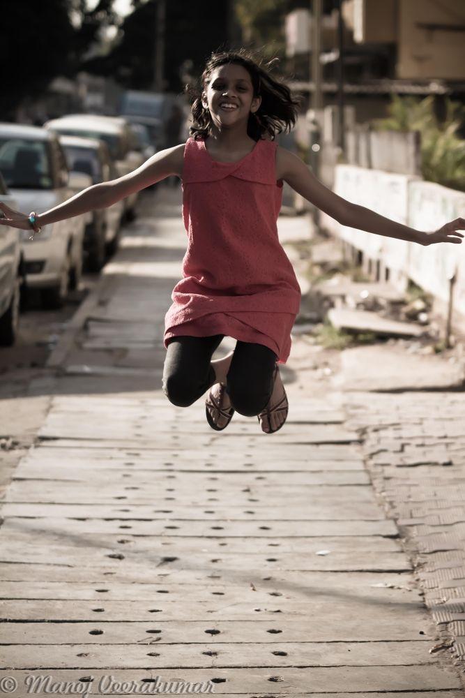 jump in joy.. by manoj veerakumar