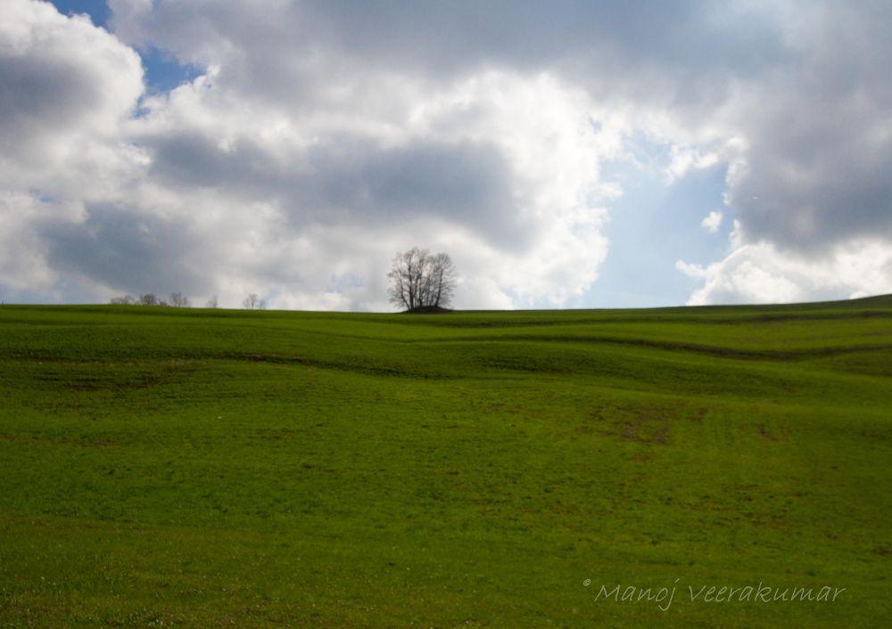 Austrian country side by manoj veerakumar