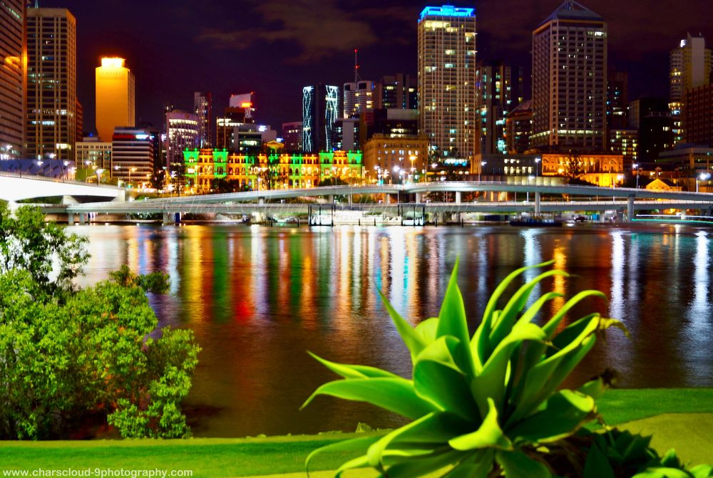 This is my personal favorite. South bank Australia. :) by CharsCloud9Photography