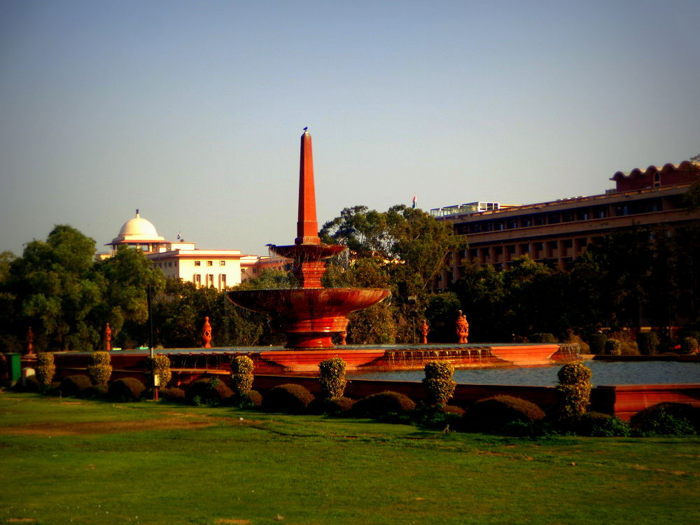 A click taken from Raisina Hills, all rights reserved by Udai Goswami