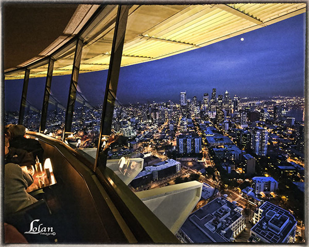 Scene from the Space Needle by tlol